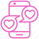 chat, dating, love, romance, soulmate, sweety, valentine icon