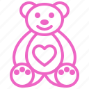 bear, dating, love, romance, soulmate, sweety, valentine icon