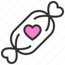 candy, chocolate, love, romance, soulmate, sweet, valentine icon