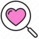 dating, love, romance, search, soulmate, sweety, valentine icon