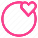 ball, love, loving, people, valentine icon