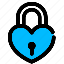 heart, key, valentine icon