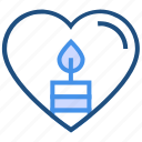 candle, dating, decoration, fire, heart, love, valentine's day