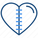 heart, injury, love, pain, scar, valentine's day icon