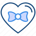bow, gift, heart, love, tie, valentine's day