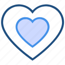 heart, hearts, like, love, romance, valentine's day icon