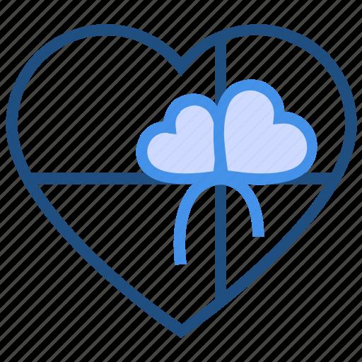 gift, gift box, heart, love, present, romance, valentine's day icon