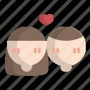 avatar, couple, love, men, valentine, wedding, women icon