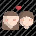 avatar, female, lady, lgbt, love, valentine, women
