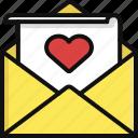 heart, letter, love, message, romance, valentine, valentine's day