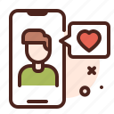 mobile, love, romance, heart