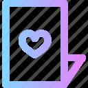 invitation, love, valentines, wedding icon