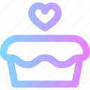 cake, cupcake, love, valentines, wedding icon