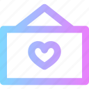lvoe, sign, valentines icon