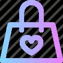 handbag, valentines icon