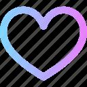 heart, love, valentines icon