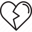 broken heart, happy, holiday, message, valentine's day