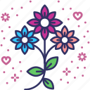 bloom, blossom, bouquet, flowers, spring, valentines, valentines day