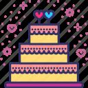 cake, celebration, couple, decoration, love, valentines, wedding