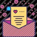email, envelope, invitation, letter, rsvp, valentines, wedding