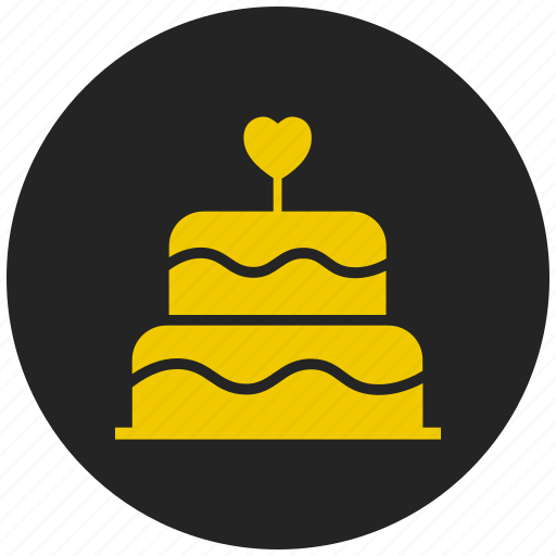 celebration, decoration, festival, party, valentines day cake, wedding cake icon