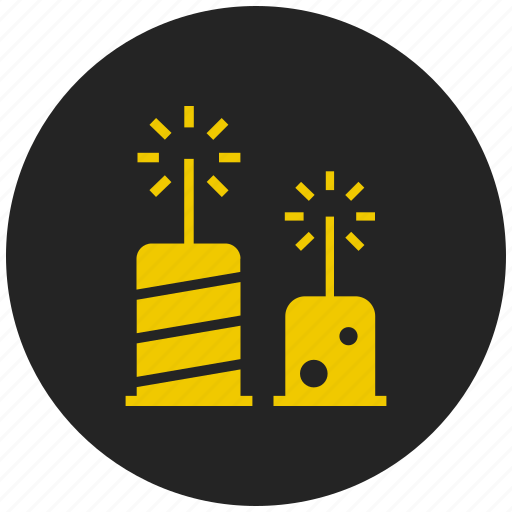 birthday party, celebration, christmas, crakers, decoration, festival, new year icon