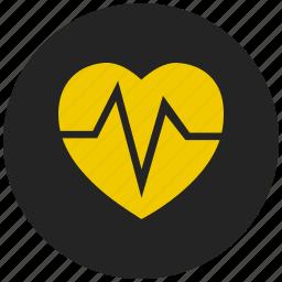 crush, ecg, favorite, heartbeat, heartbeat rate, love clock, relationship icon