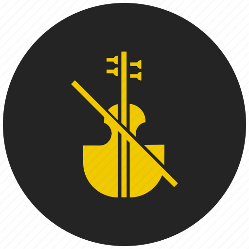 audio, instrument, music, orchestra, play, sound, violin icon