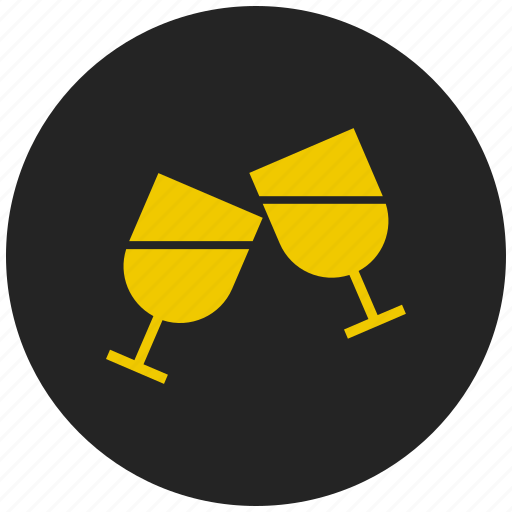 alcohol, beverage, cocktail, cool drink, glass, party, wine icon