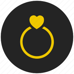 engagement ring, gift, luxury, ring, wedding gift, wedding ring icon