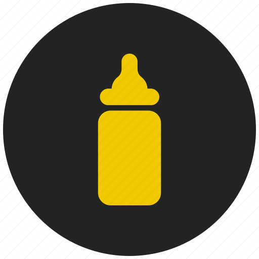 baby bottle, baby feeder, feeding bottle, milk bottle, sipper icon