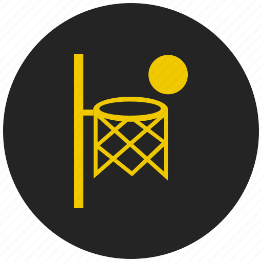 Basket ball, basketball, basketball net, outdoor game, sports icon - Download on Iconfinder