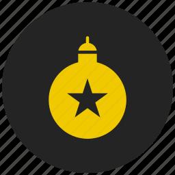 blast, boom, celebration, christmas bomb, explode, firework bomb, new year icon