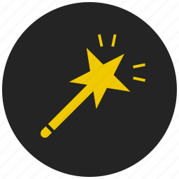 edit, fantasy, magic, magician, wand, witchcraft, wizard icon