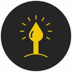 candle, candle light, christmas, easter, flame, new year, winter icon