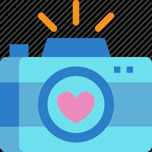 camera, day, love, photo, valentines icon