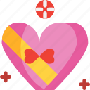 box, day, heart, love, shaped, valentines icon