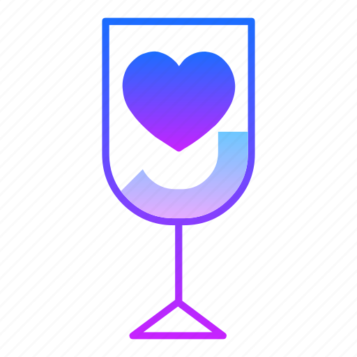 cocktail, cup, drink, glass, love, potion, valentines day icon