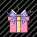 gift, present, valentine, valentines day icon