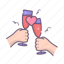 hands, love, romantic, valentine, valentines day, wine
