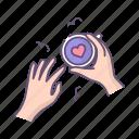 coffee, hands, love, valentine, valentines day