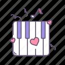 love, music, romantic, valentine, valentines day