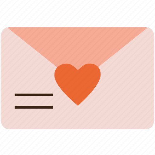 envelope, love, message, romantic, valentine, valentine's day icon