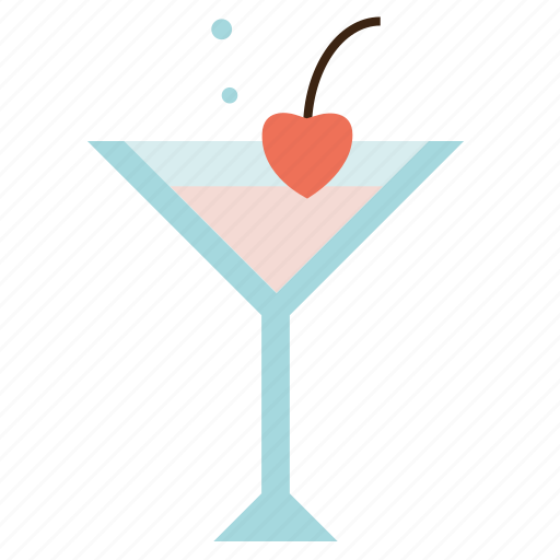 drink, martini, party, valentine's day icon