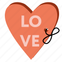 card, heart, love, romantic, valentine, valentine's day icon