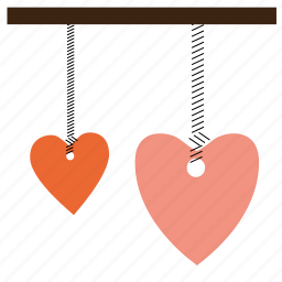 decoration, heart, romantic, valentine, valentine's day, valentines icon