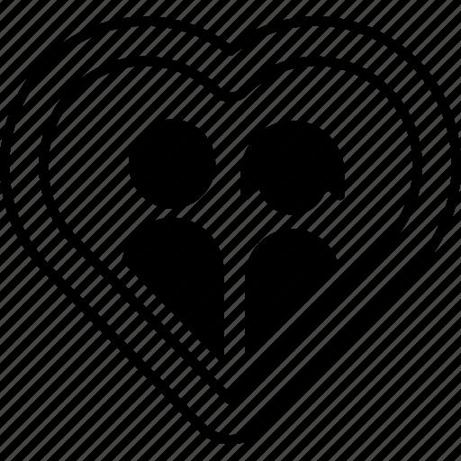 day, heart, love, romantic, valentines, wedding icon