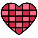 heart, like, love, romance, valentine's day icon