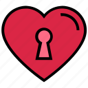 dating, heart, heart lock, lock, love, valentine's day