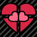gift, gift box, heart, love, present, romance, valentine's day
